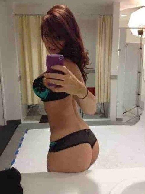 hot teen ass amateur selfie