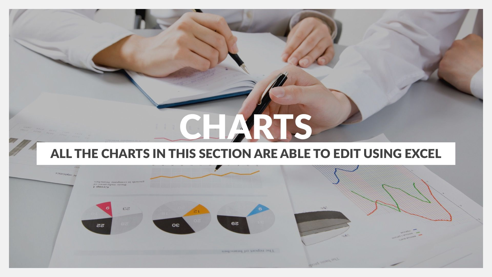 Charts and Data Driven PPT Pitch Deck #advert, #advertisement