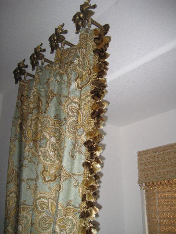 Portfolio Decorative Window Treatments Hanging Drapes Window
