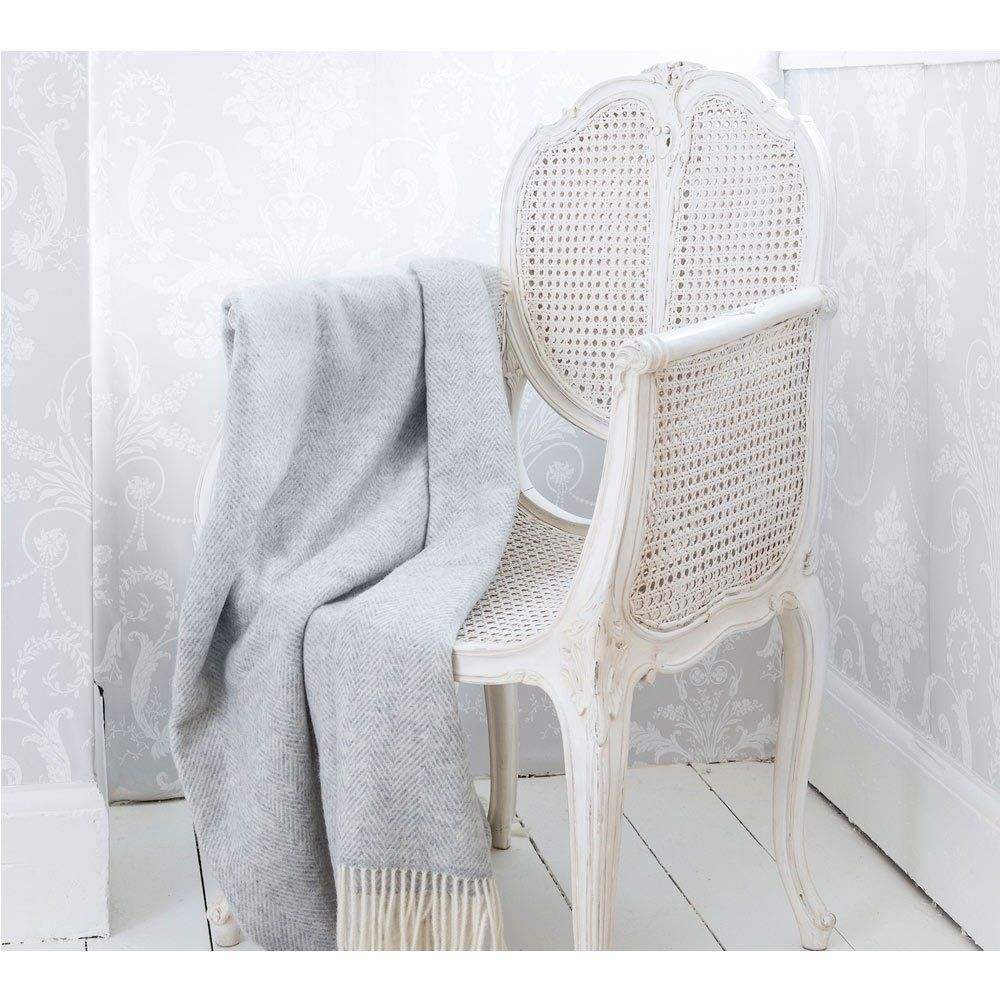 Provencal Rattan White Chair in 2020 White french