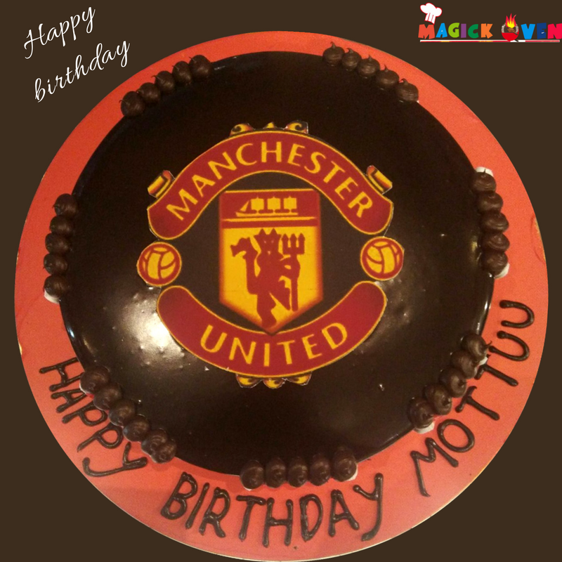 Here S Wishing A Very Happy Birthday To A Manchester United Fan Some Fun Fact Manchester United Cool Cake Designs Very Happy Birthday Happy 50th Birthday