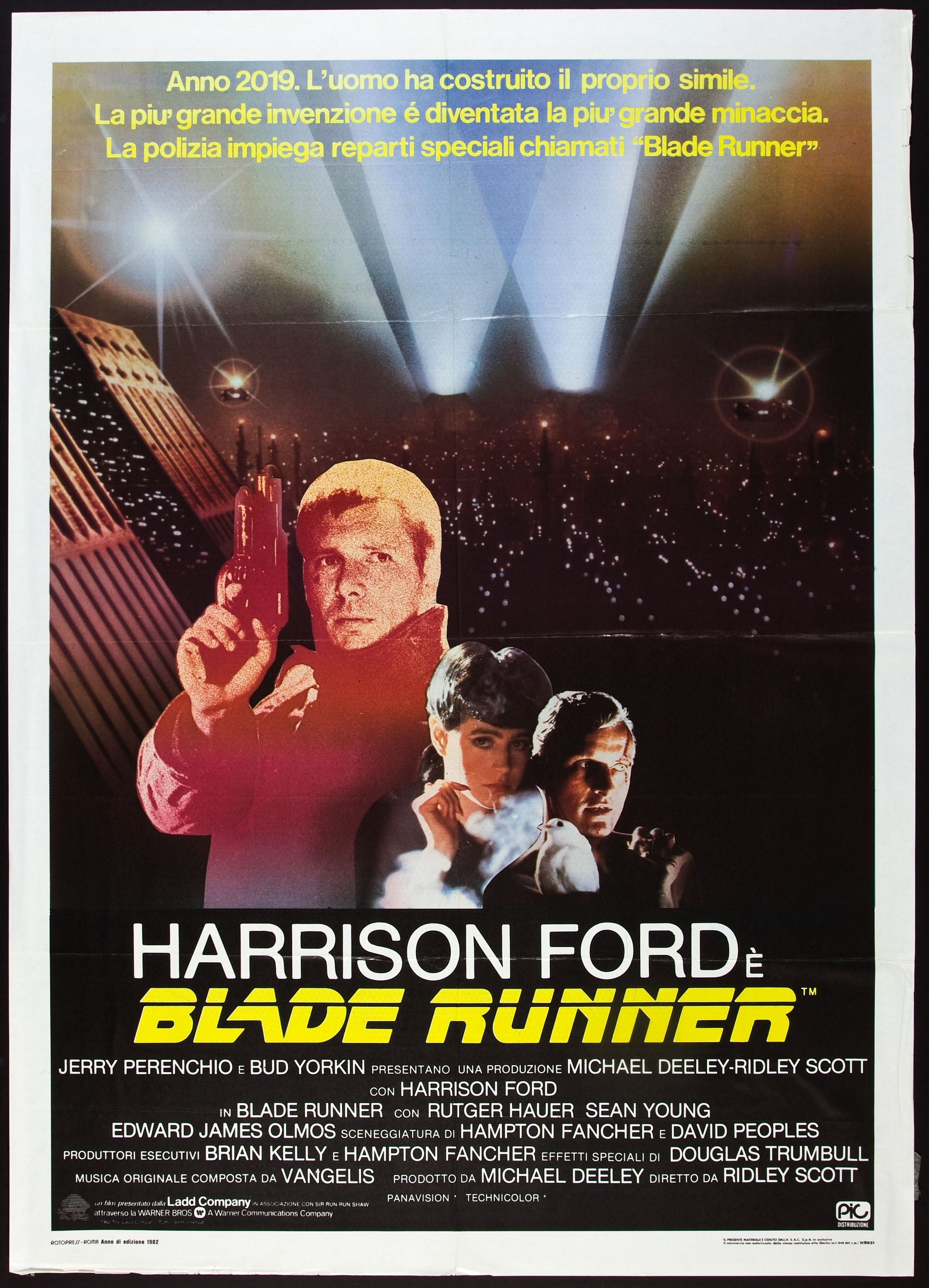 Blade Runner Italian Movie Poster With Images Blade Runner