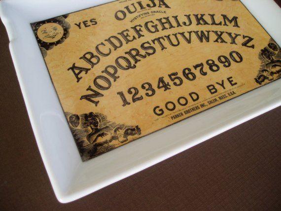 Ouija BoardJewelry Tray by HotTaTasFaktory on Etsy
