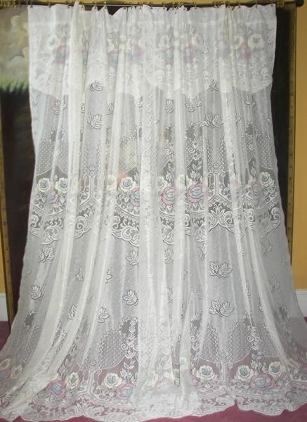Vintage French Country Cottage Victorian Chic Net Floral