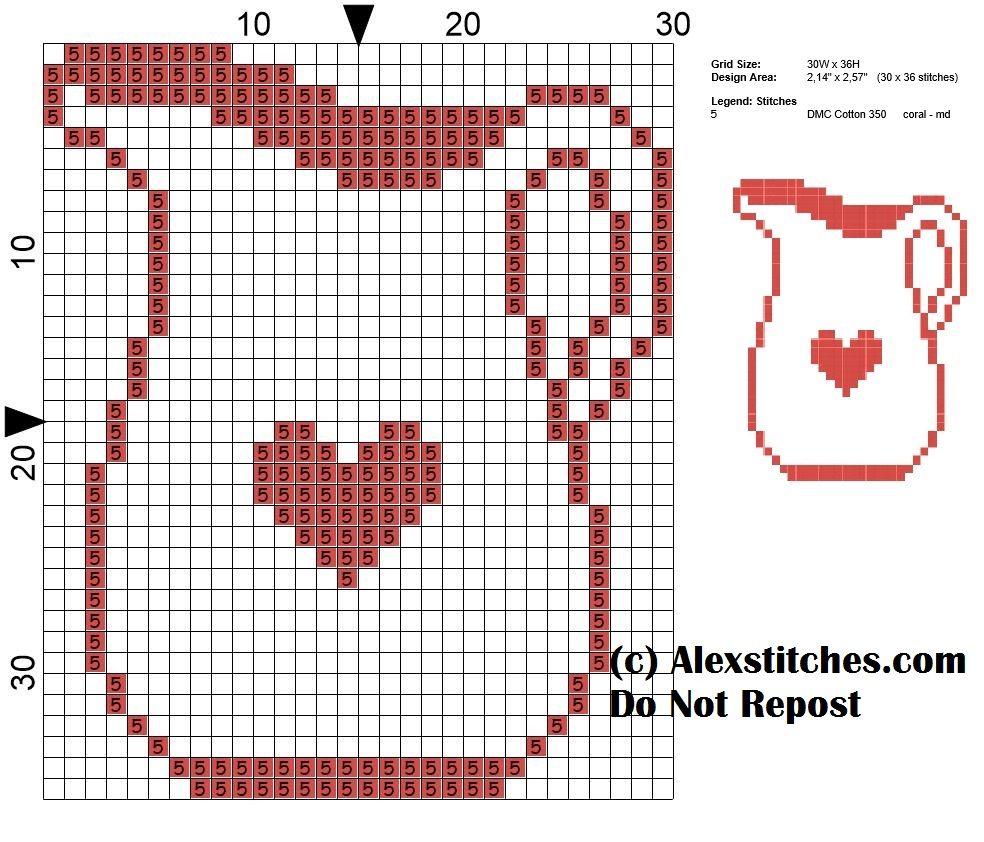 Jug Kitchen Cross Sch Pattern Monochrome Free
