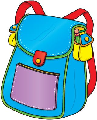 backpack clipart pinterest backpacks clip art and school rh pinterest com backpack clipart black and white backpack clipart png