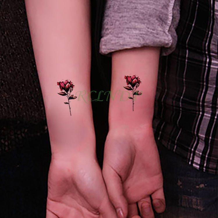 Terkeren 19 Tato Bunga Mawar Di Tangan Gambar Tato Keren Tato Bunga Tato Gambar Tato