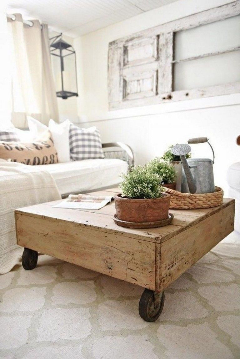 31 cool farmhouse coffee tables ideas to your
