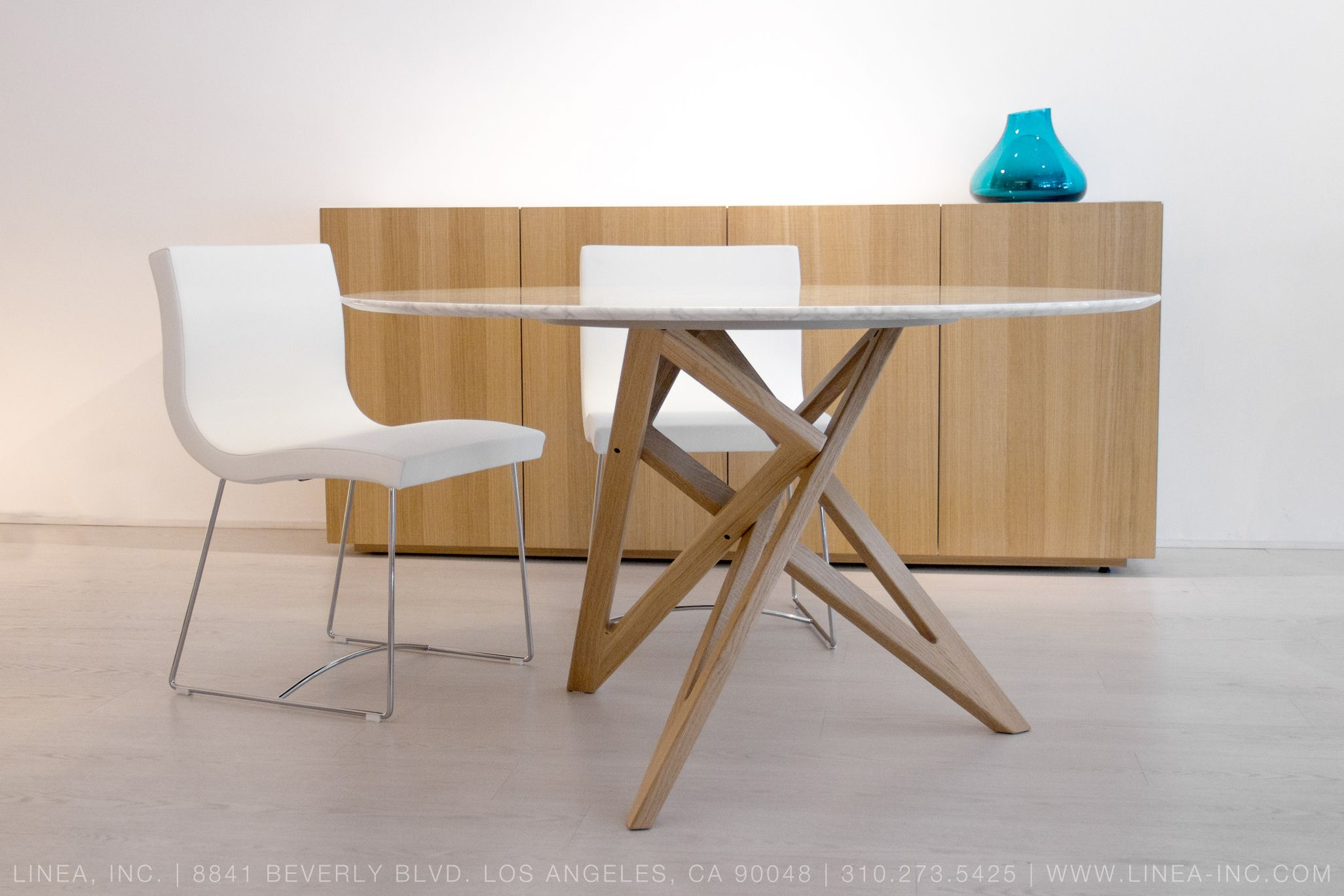 . Sala Dining Chairs  Ennea Dining Table  Et Cetera Sideboard for