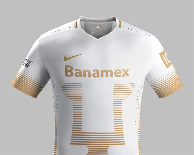 734fef2ee320d camisas do Pumas UNAM 2015-2016 - Nike