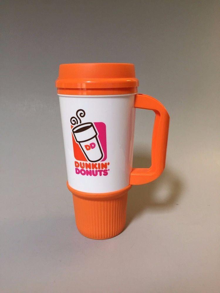 eecac79bd70 DUNKIN DONUTS INSULATED COFFEE MUG, Large Dunkin Donuts mug ...