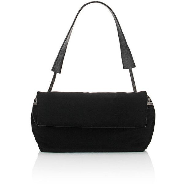 The Row Small Flap Bag (4,145 CAD) ❤ liked on Polyvore featuring bags, handbags, shoulder bags, black, black flap bag, strap handbags, shoulder handbags, black handbags e flat purse