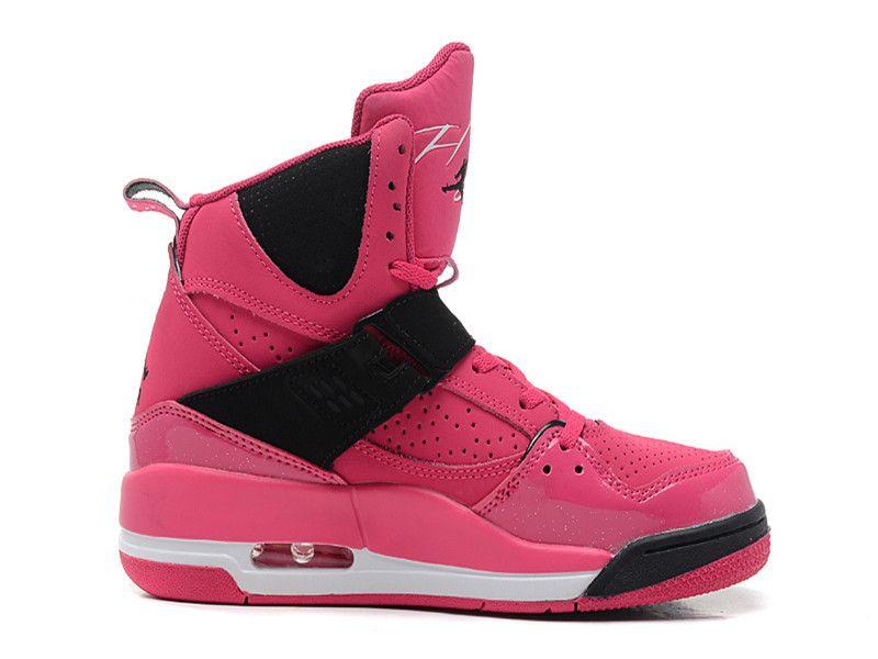12242178e2b Air Jordan Flight 45 High Premium GS - Nike Air Jordan Baskets Pas Cher  Chaussure Pour Femme Fille 547769-601