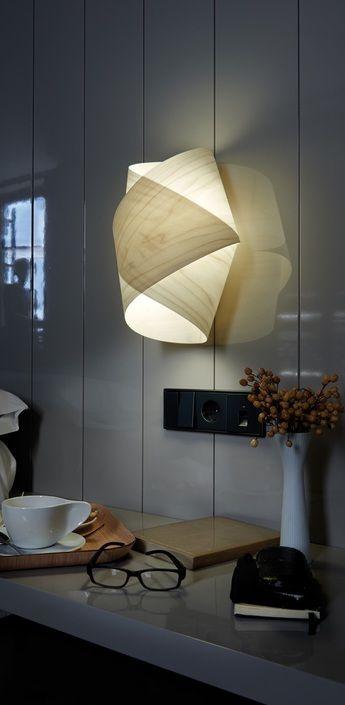 applique murale orbit blanc ivoire h36cm lzf normal. Black Bedroom Furniture Sets. Home Design Ideas