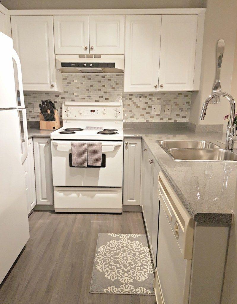 Finish Line Of My Condo Reno Cheap Kitchen Cabinets Grey Kitchen Designs Modern Grey Kitchen