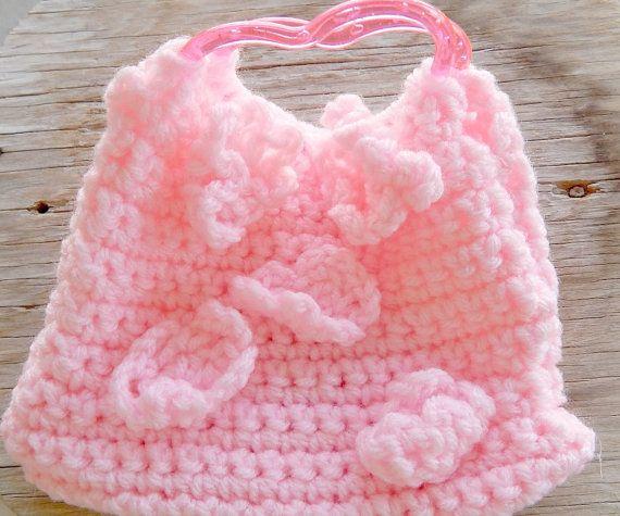 Girls Crocheted Purse Handmnade Girls Purse by CowgirlUpLadies