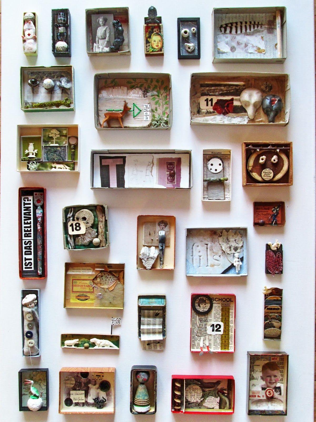 Mano' Welt Kunstschachteln 339 - 345 Art Boxes