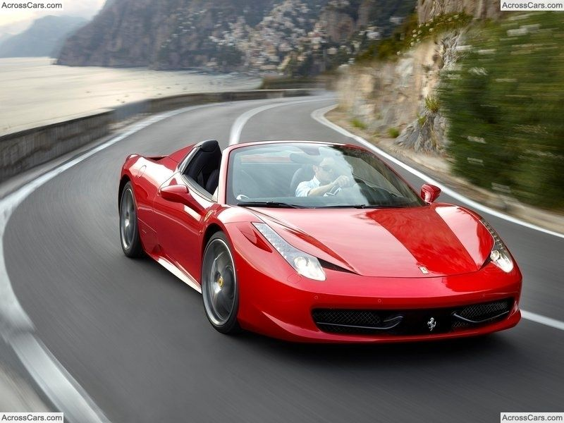 Cars · Ferrari 458 Spider (2013)