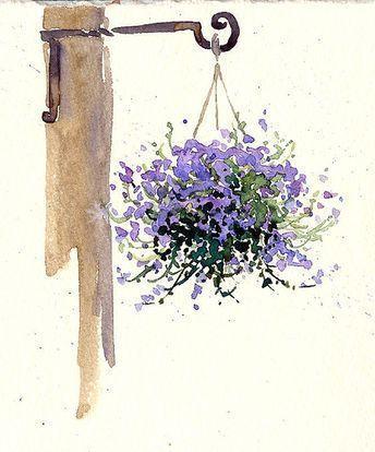 Maree Clarkson Kunst Kreativitat Mein Skizzenbuch Lavendel Aquarell In 2020 Kunst Aquarell Skizzen Aquarell Ideen