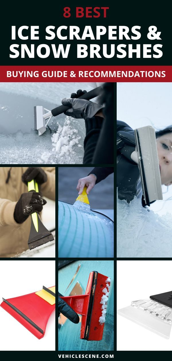 Discover why ice scrapers and snow brushes are important for driving safely, and read our reviews of the best ice scrapers on the market today #carmaintenance #cartips #carproducts #buyingguide #carexterior