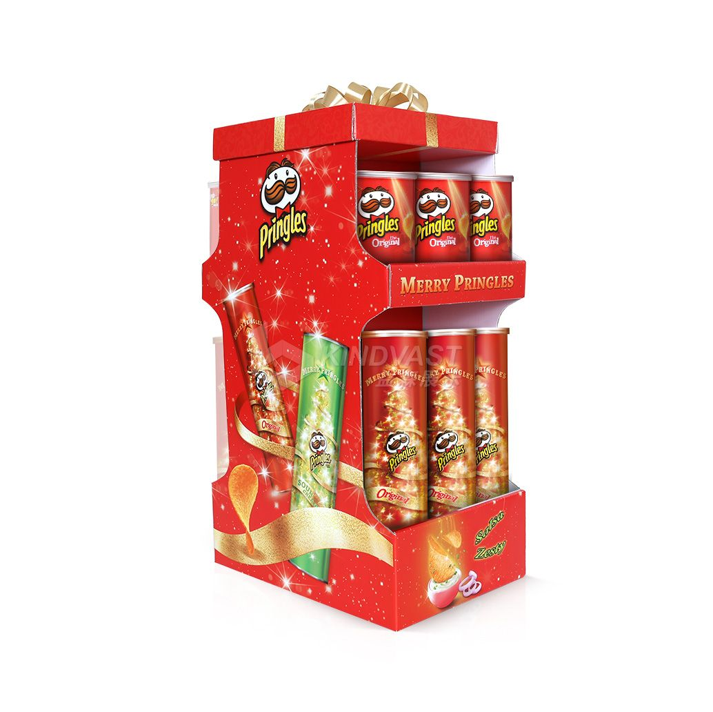 Potato Chips Point Of Sales Display Point Of Purchase Corrugated Display Counter Display Web Banner Design Ads Creative Pop Design