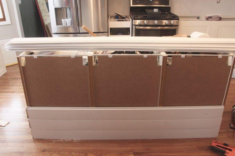 How To Build An Island Using Ikea Cabinets Ikea Kitchen Ikea