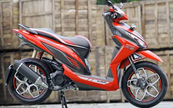 Modifikasi Honda Vario 110 Simple Desain Honda Scooter Custom