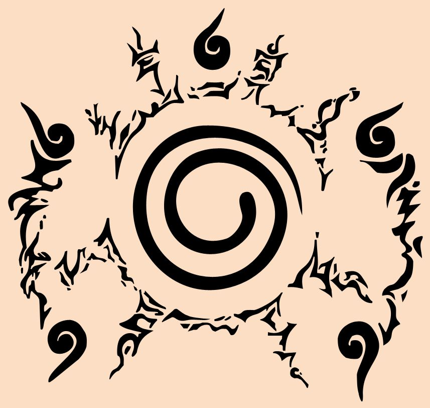 Naruto Seal With Five Element By Gaianna On Deviantart Tattoos