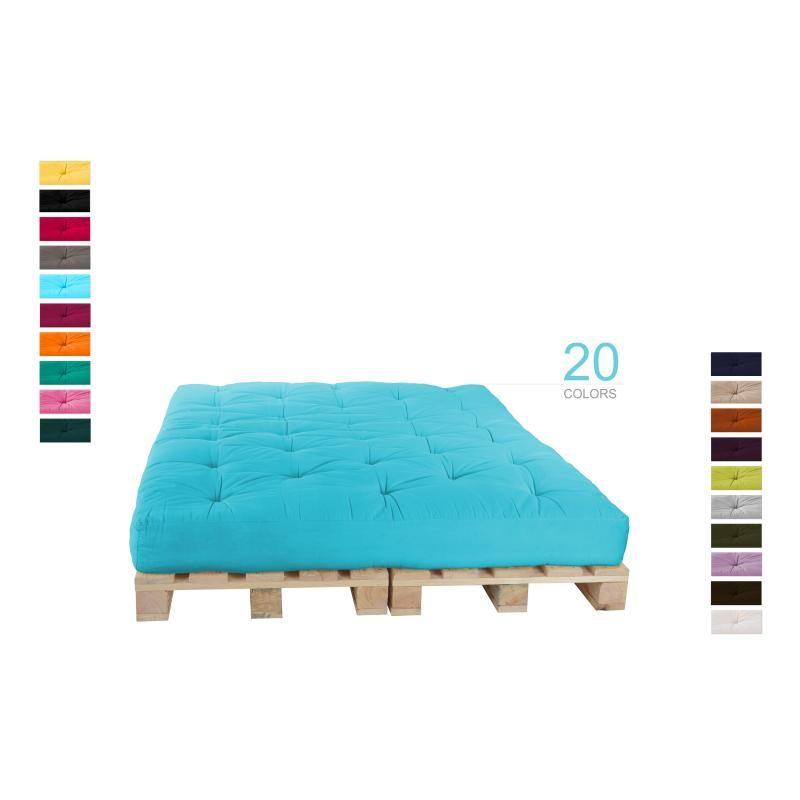 Palettenkissen Palettensofa Set | Palettenbett, Möbel aus ...
