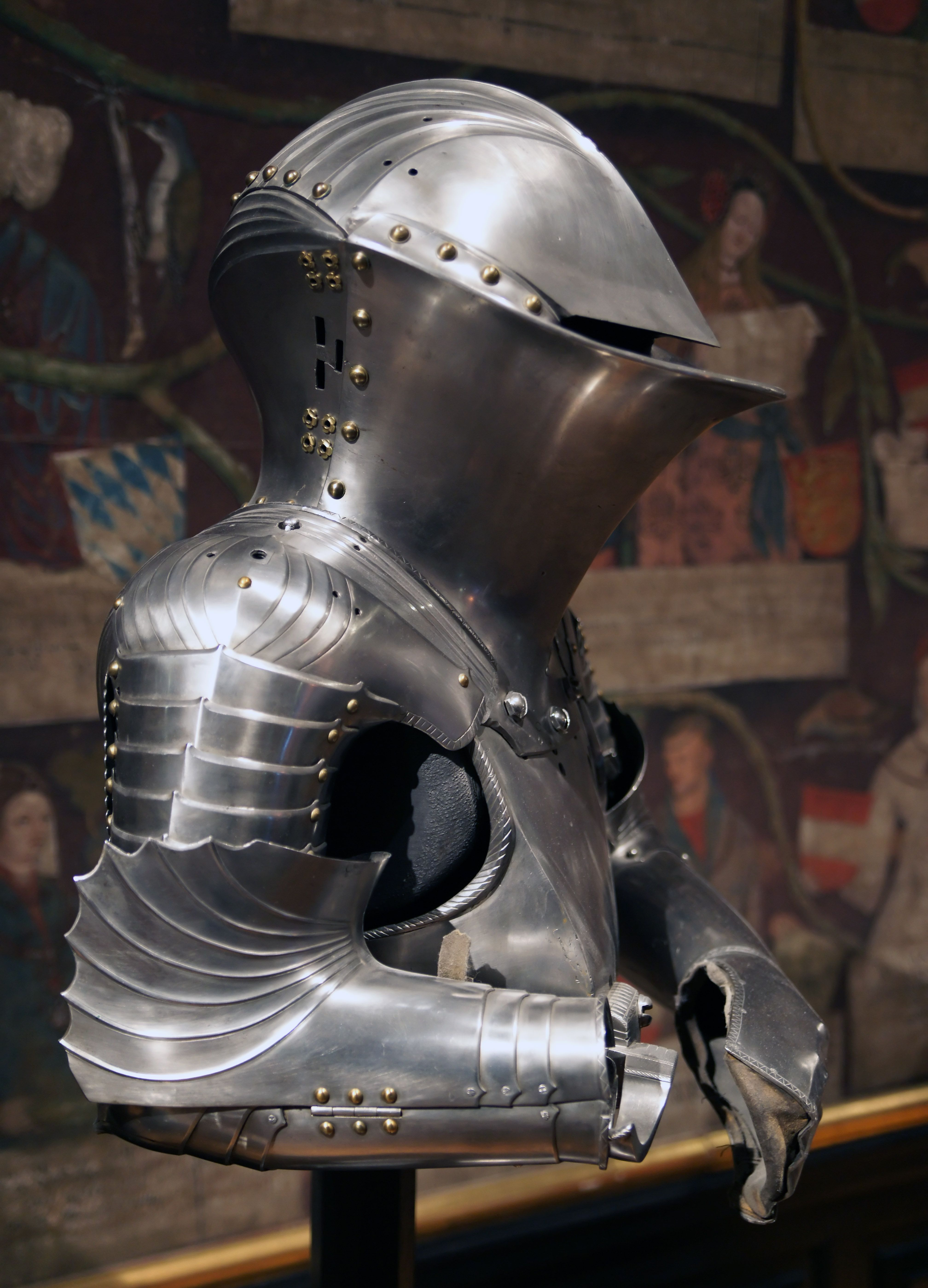 Jousting armour j rg the younger and lorenz helmschmid augsburg c 1494