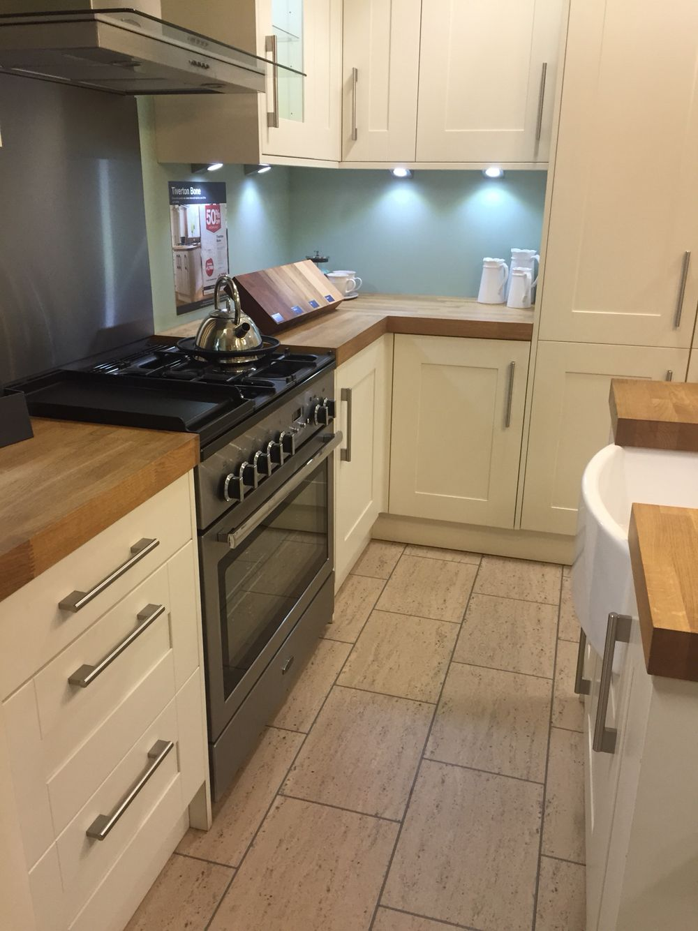 Wickes Kitchen Flooring Tiverton Bone Wickes Kitchen Extension Pinterest Woods