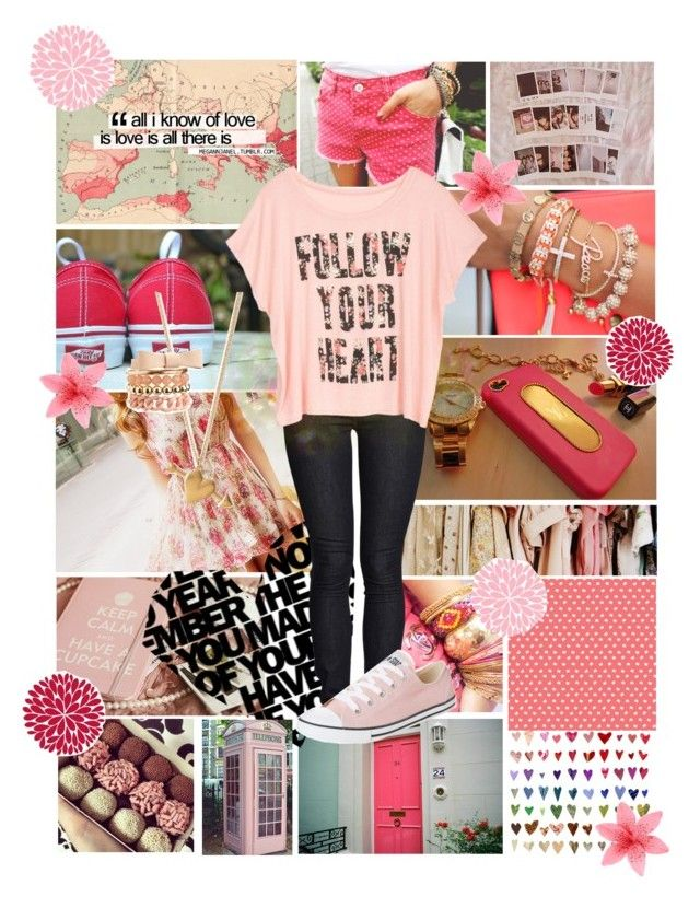 """""""Just Give Me A Reason"""" by follow-your-dreams-14 ❤ liked on Polyvore featuring Avenue, Chanel, Ksubi, Forever 21, Converse and Charlotte Russe"""