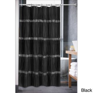 Luxurious Rhinestone Shower Curtain Overstock Com Shopping The