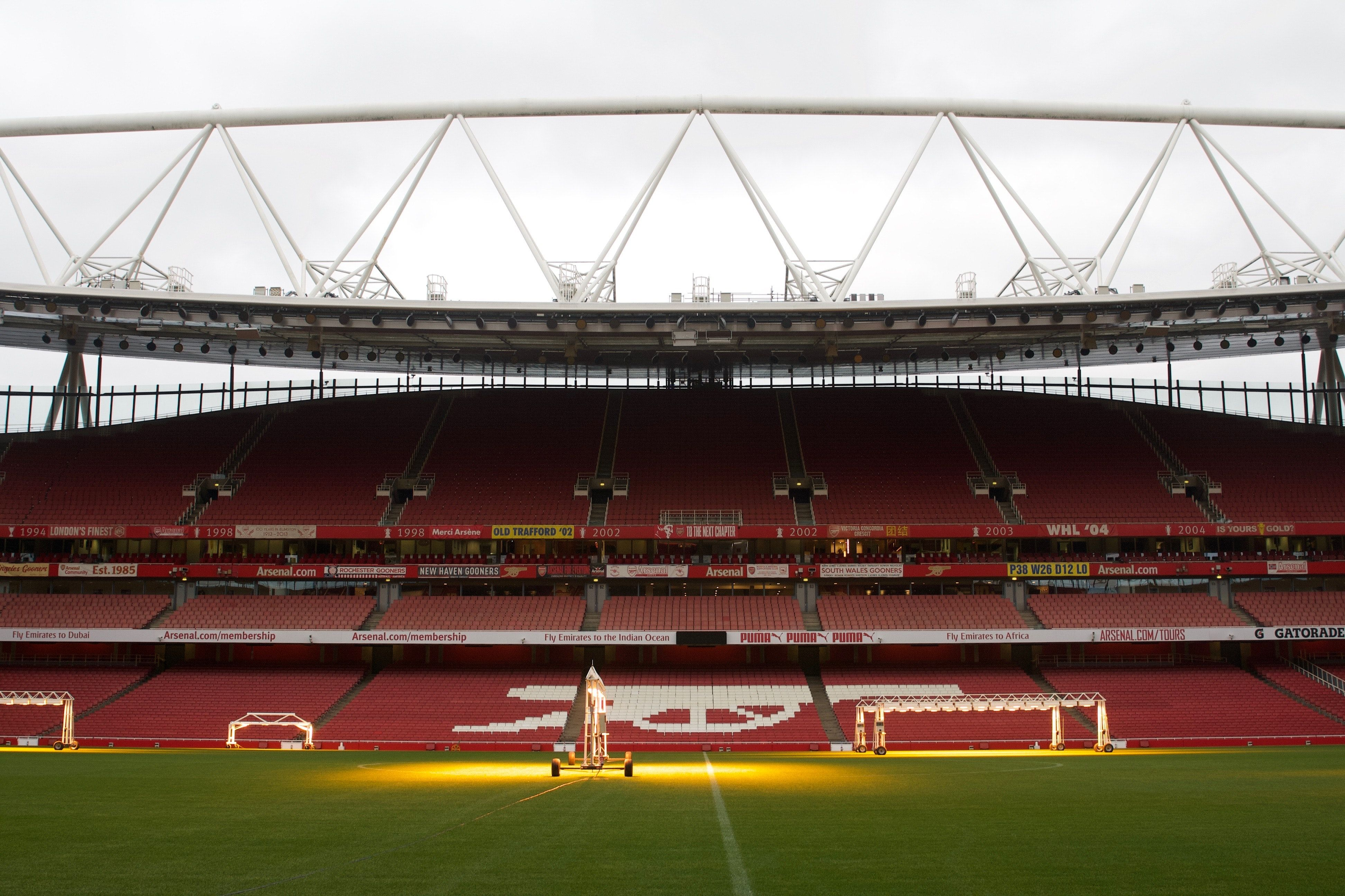 The Story Of Arsenal S Newly Battery Powered Emirates Stadium Arsenal Arsenal Stadium Stadium