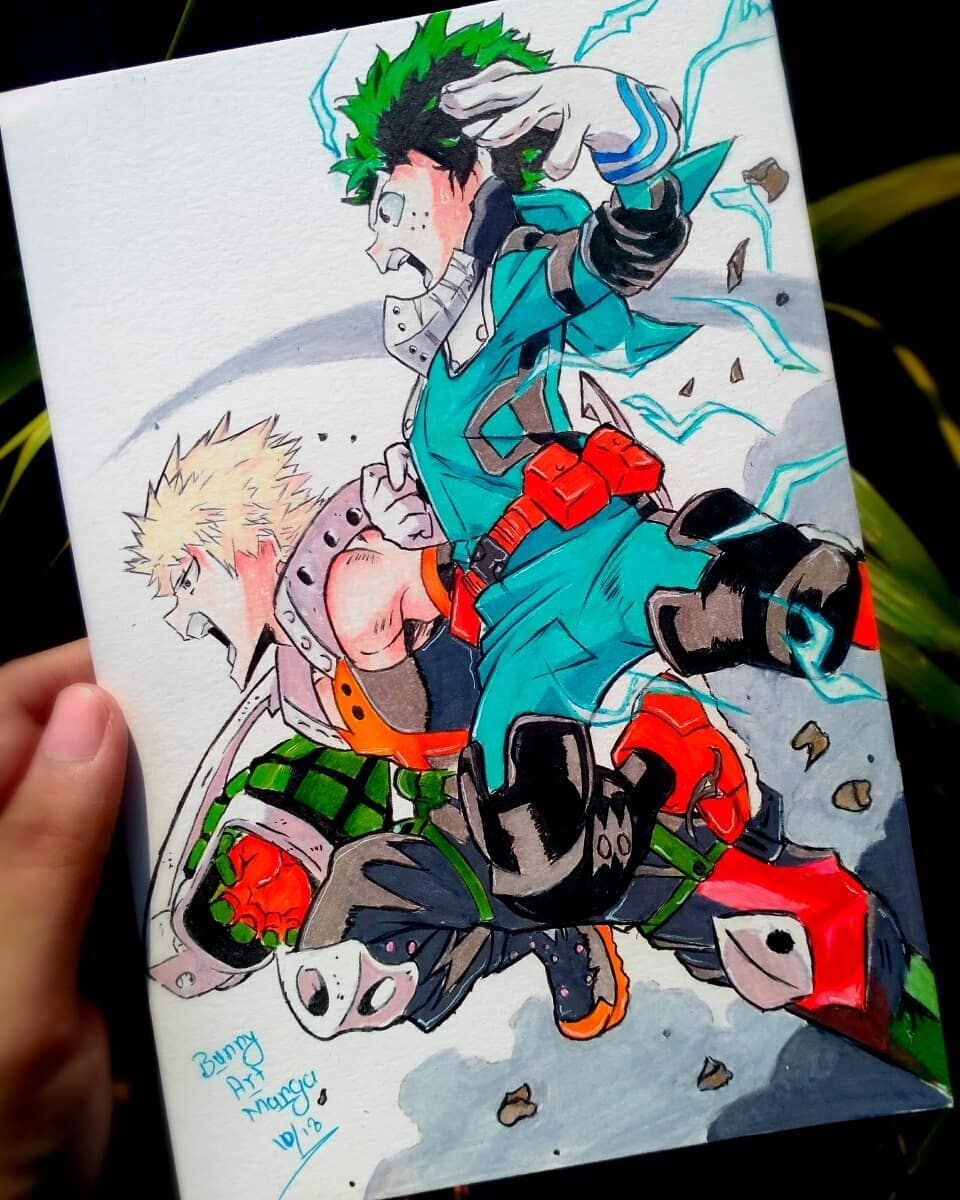 Finally complete and it's looking amazing 😍😍😍midoriya and
