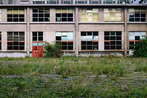 università abbandonata, Belgio