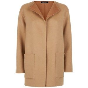 Jaeger Double-Faced Wool Duster Coat , Camel
