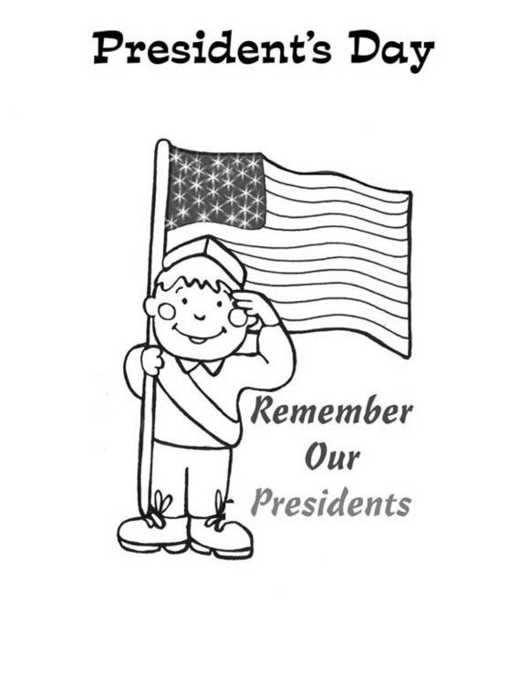 Preschool Presidents Day Coloring Pages - Holidays ...