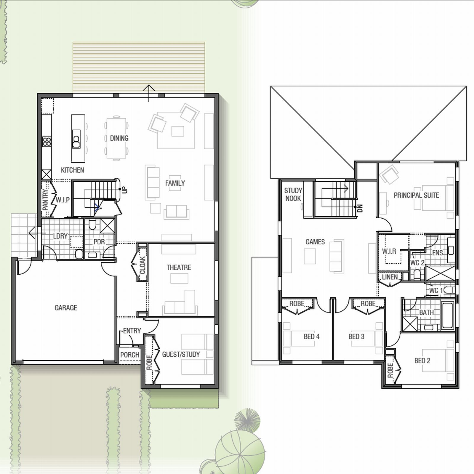 Looking For A Double Storey Home To Build In Nsw The Mapleton
