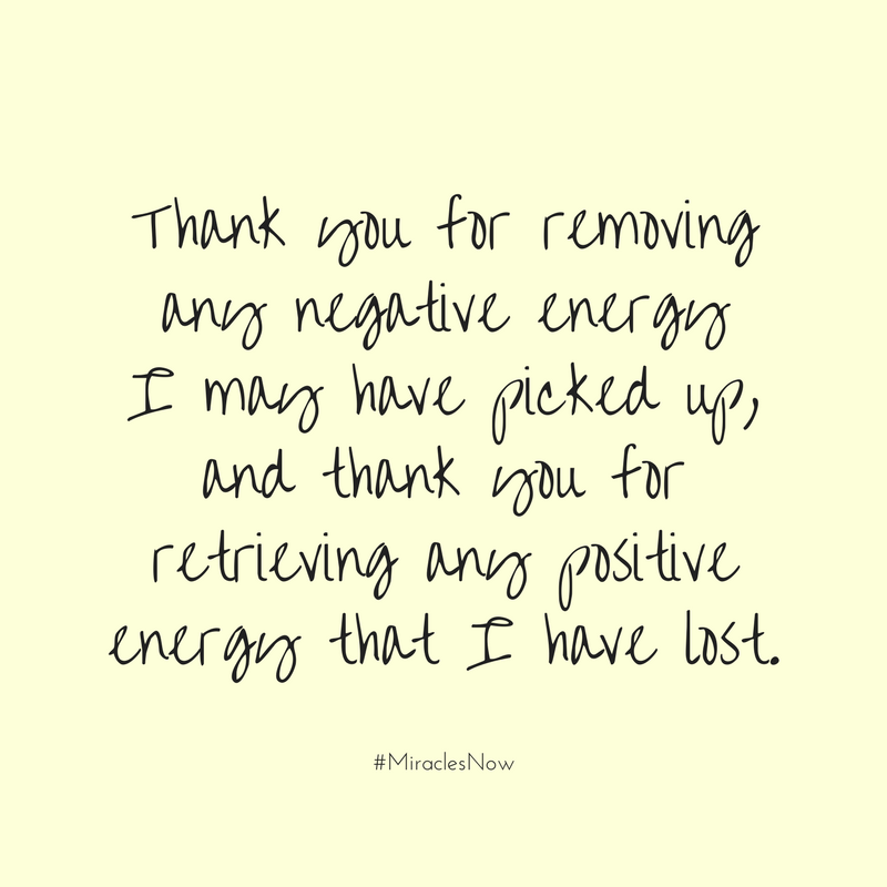 This Is A Fabulous Energy Protection Prayer I Learned From My