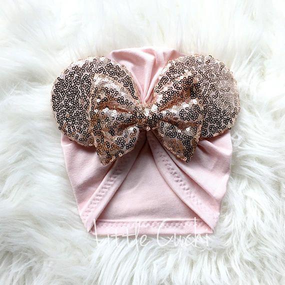 DIY- Como Hacer un Gorro MINNIE MOUSE Facil en Tela   How to Make Fabric  Hat Baby Girl 821f05e7bac