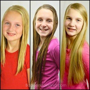 The Girls of BabesInHairland.com #hair #straighthair #longhair