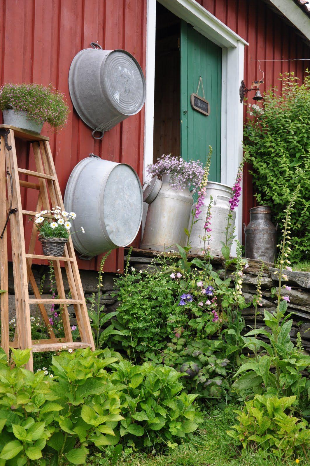 Husmannsplassen i Hidlesundet: Bli med en tur rundt i hagen