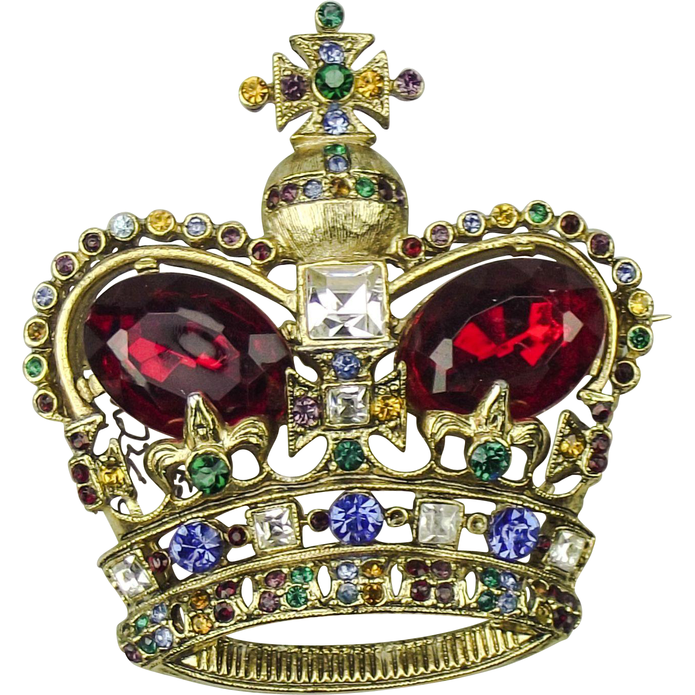 Mazer Bothers Crown Brooch from the 1949 collection