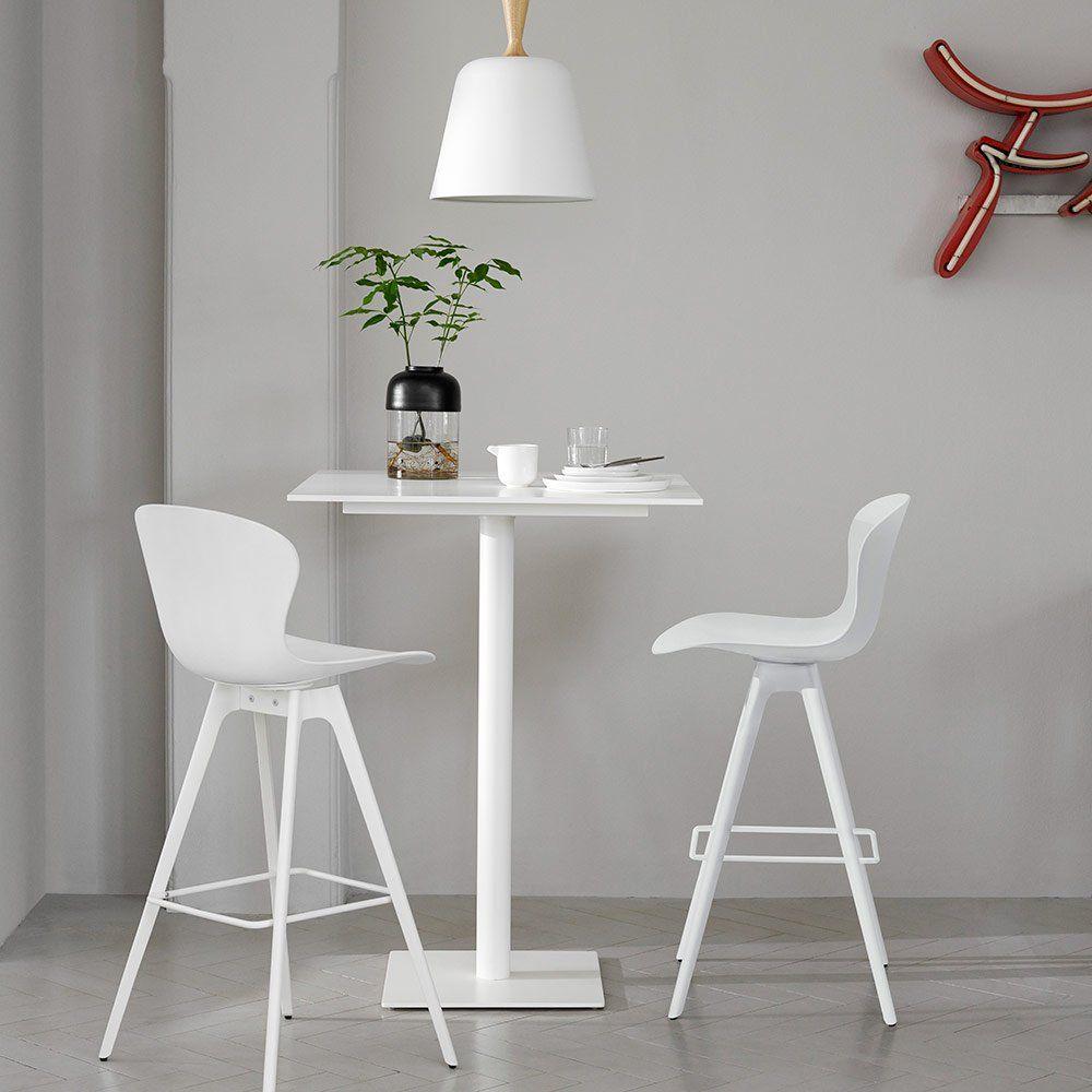 Une Chaise Haute Blanche Design, BoConcept, Pour La Cuisine