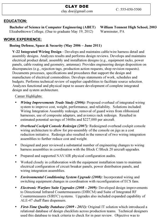 Interests On Resume Examples Pinterest Resume examples