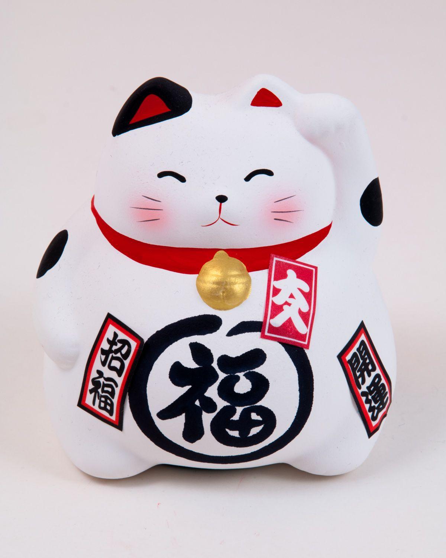 Pin Auf Manekineko Japanische Gluckskatze Winkekatze