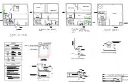 Door Frame Sectional Details House Elevation Door Frame Floor Plans