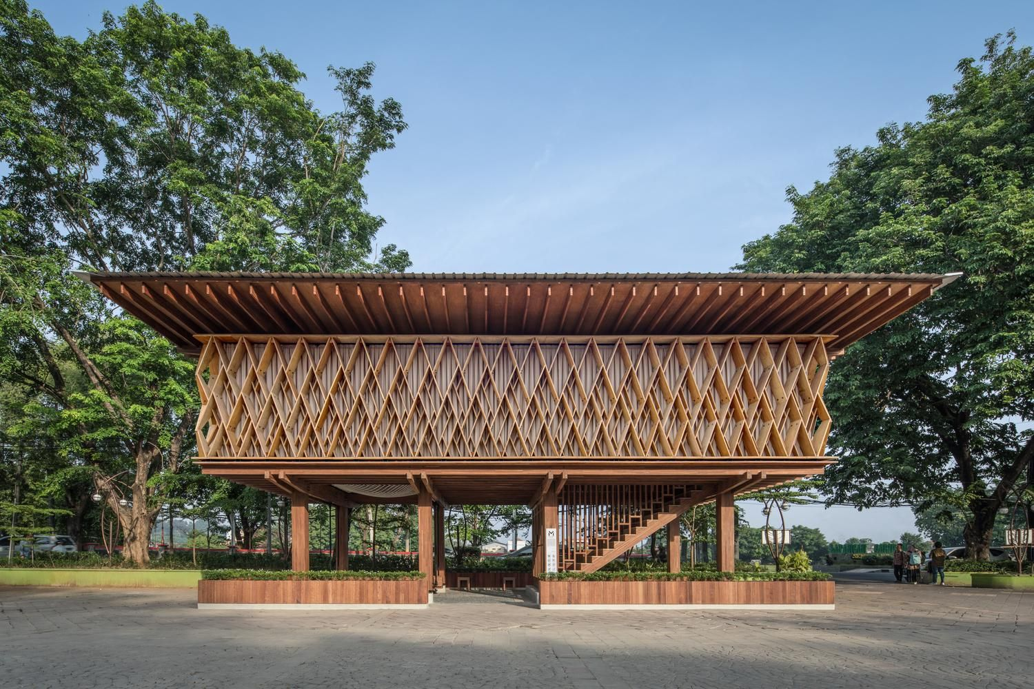 Microlibrary Warak Kayu / SHAU Indonesia [1500 x 1000] in