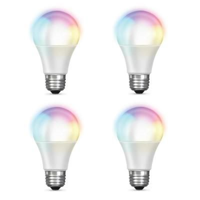 Feit Electric 60 Watt Equivalent A19 Dimmable Color Changing Smart